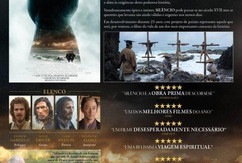 """O Novo Filme """"Silêncio"""" de Martin Scorsese"""