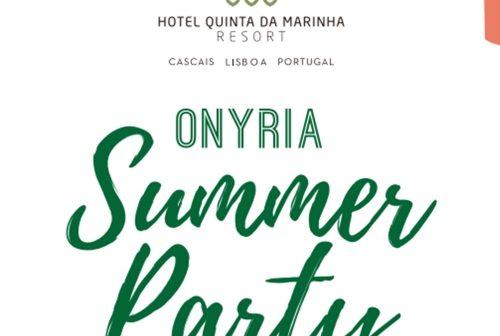 7ª Edição da ONYRIA SUMMER PARTY A 4 de Agosto