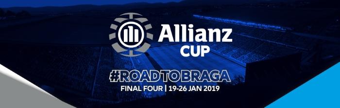 Fase de Grupos da Allianz CUP