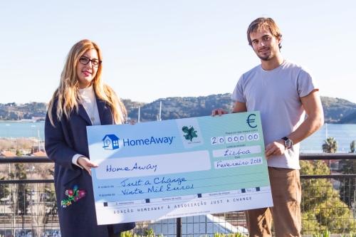 """HomeAway apoia projeto """"Reabilitar Portugal"""" da Associação Just a Change"""