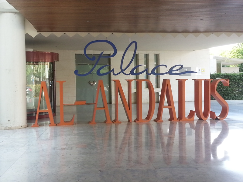 Hotel Al-Andalus Palace em Espanha