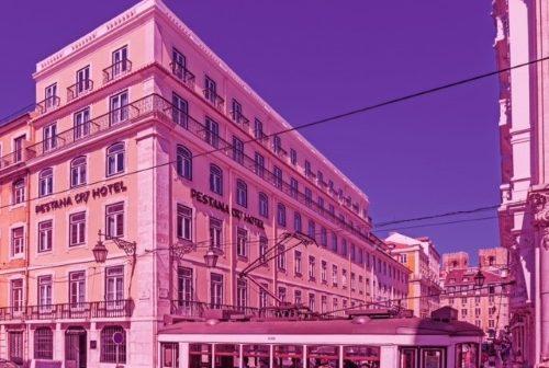 Fachada CR7 Hotel Lisboa