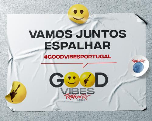 Rock in Rio vai espalhar Good Vibes por Portugal!