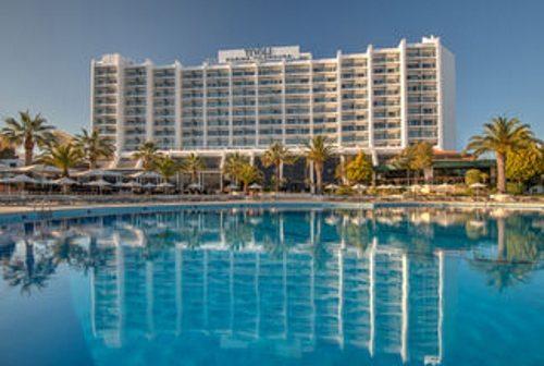 Uma quadra festiva em pleno no Tivoli Marina Vilamoura Resort