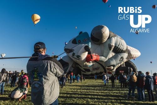 Festival de balonismo Rubis Gás Up chega ao Algarve