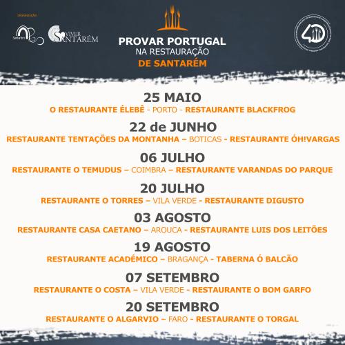 """""""Provar Portugal na Restauração de Santarém"""""""